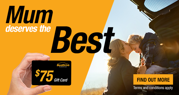 BestDrive Mother's Day E-Gift Card Promo