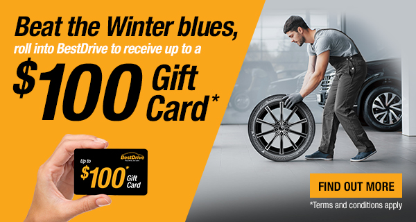 BestDrive Winter E-Gift Card Promo