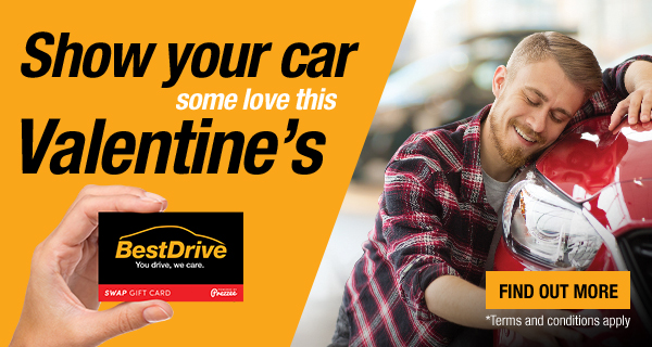 BestDrive Valentines E-Gift Card Promo